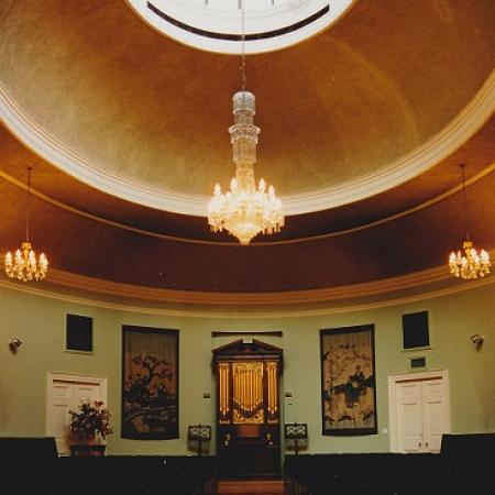 St Cecilia's Hall (interior), University of Edinburgh